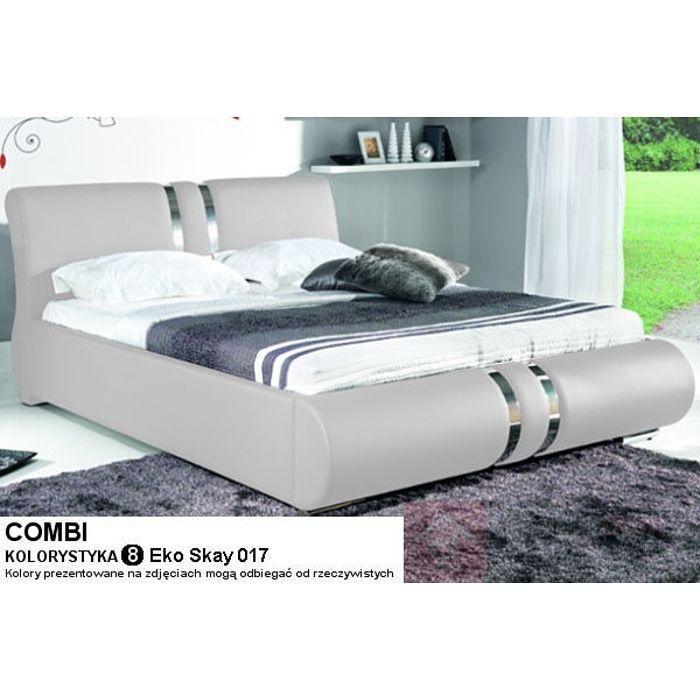 łóżko Tapicerowane Z Pojemnikiem Na Pościel Combi 17 Wariantów Kolorystycznych