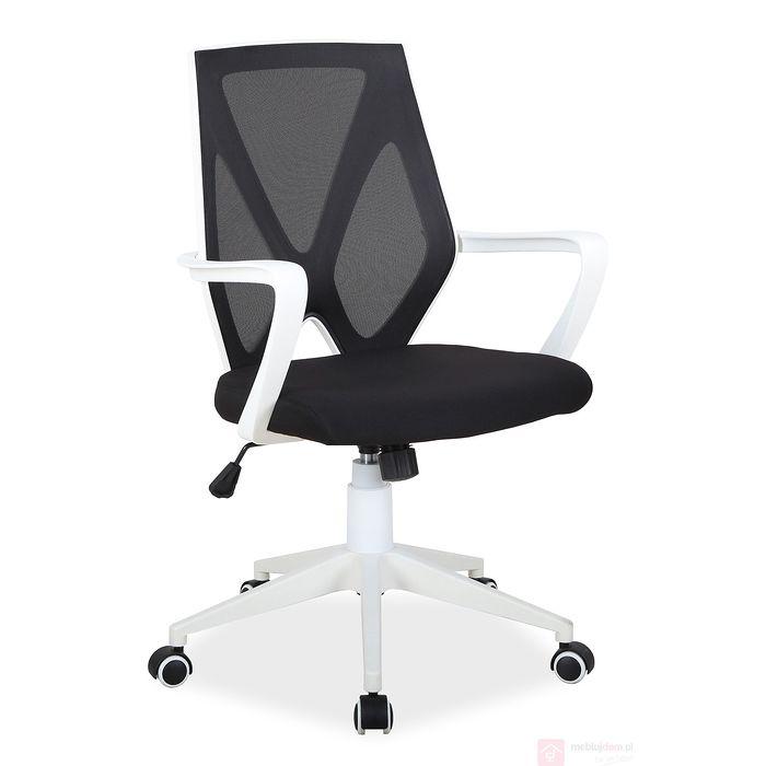 Fotel obrotowy do biura Q 258 Signal tkanina i siatka