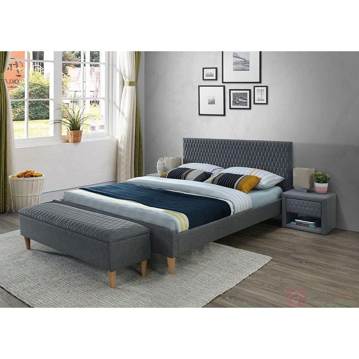 łóżko Tapicerowane Azurro Signal 160x200cm Dwa Kolory