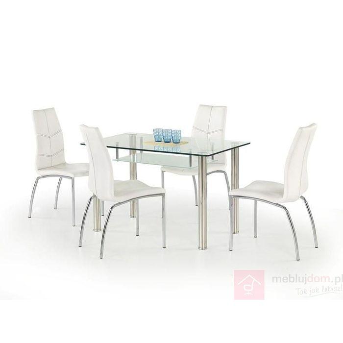 Stół OLIVIER Halmar Przezroczysty, 70x120 cm