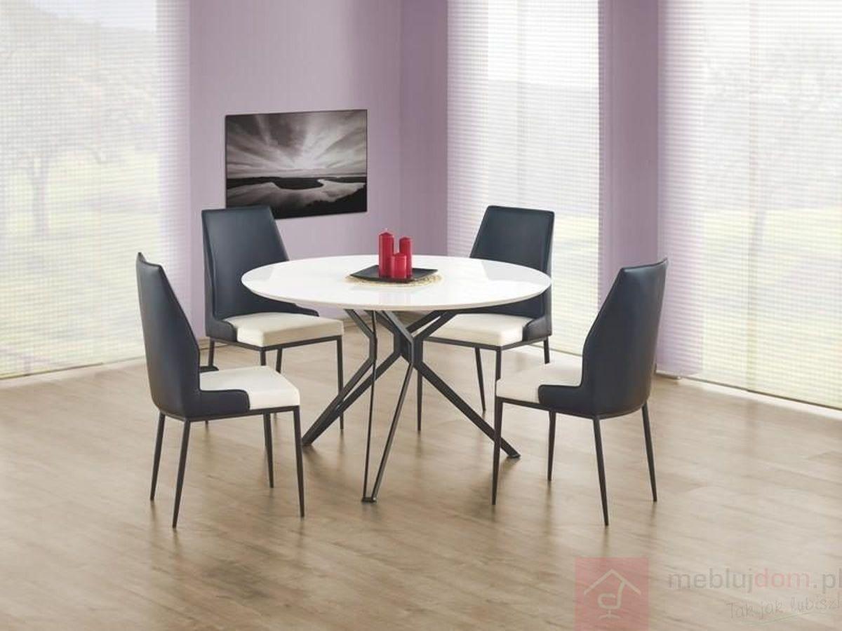 Stół PIXEL Halmar Biały połysk