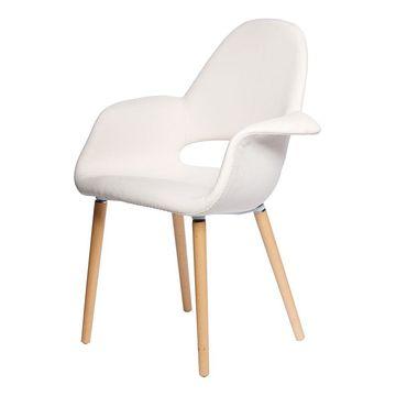 Krzesło A-Shape kremowe