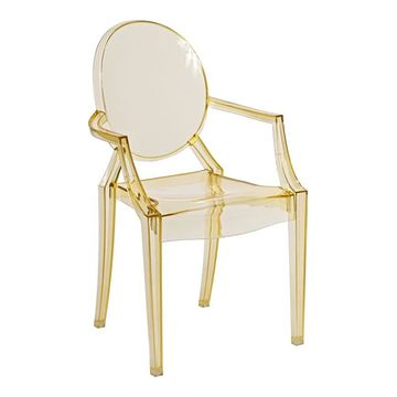 Krzesło ROYAL JUNIOR inspirowane Louis Ghost