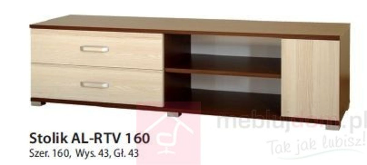 Szafka RTV ALASKA AL-RTV 160