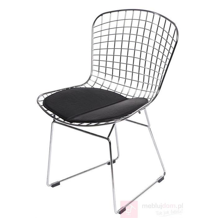 Krzesło HARRY czarny przód