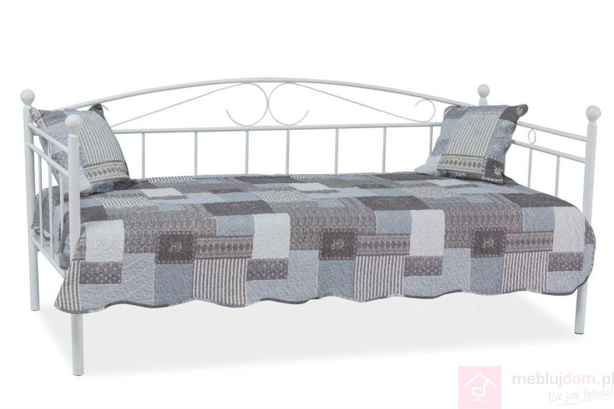 Łóżko ANKARA Signal Biały, 90x200 cm