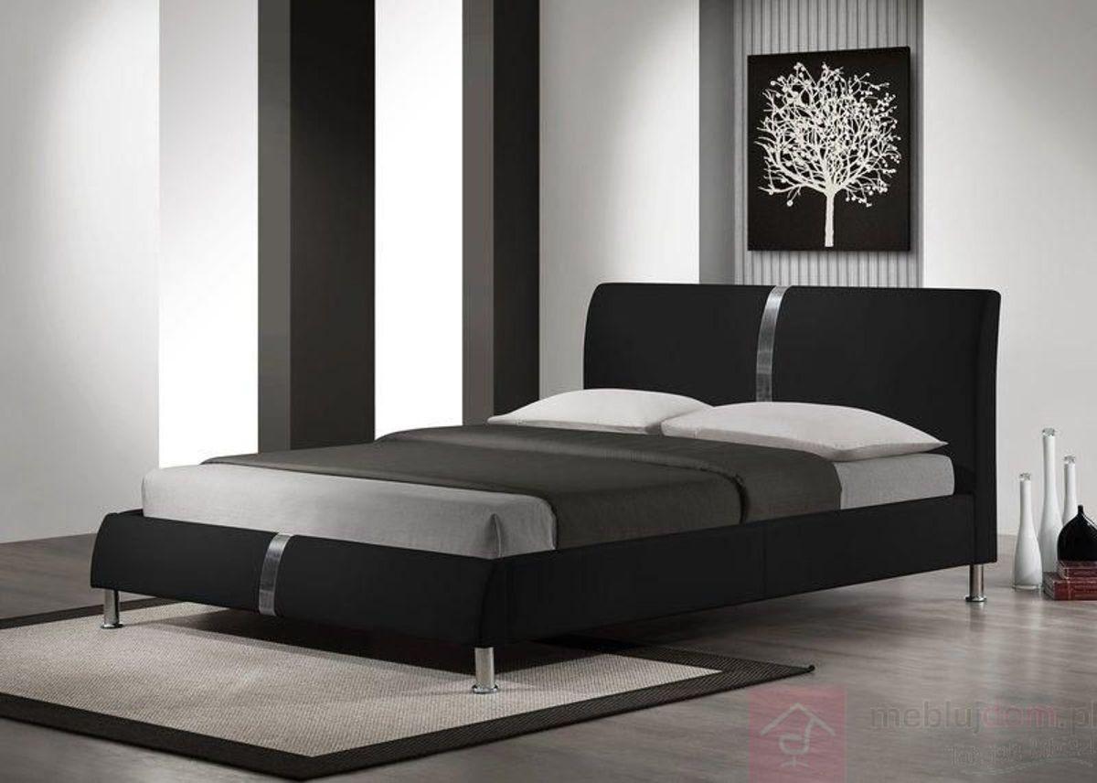 Łóżko DAKOTA Halmar 160x200 cm, Czarny