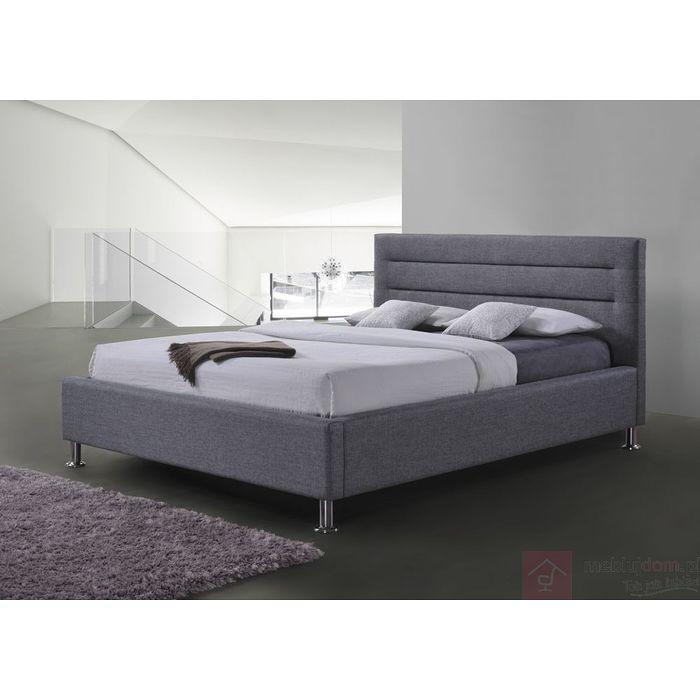 Łóżko LIDEN Signal Szary, 160x200 cm