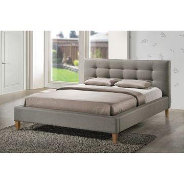 Łóżko TEXAS Signal Szary, 160x200 cm