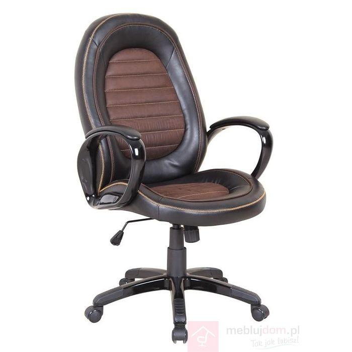 Fotel obrotowy CARGO Halmar Czarno-brązowy