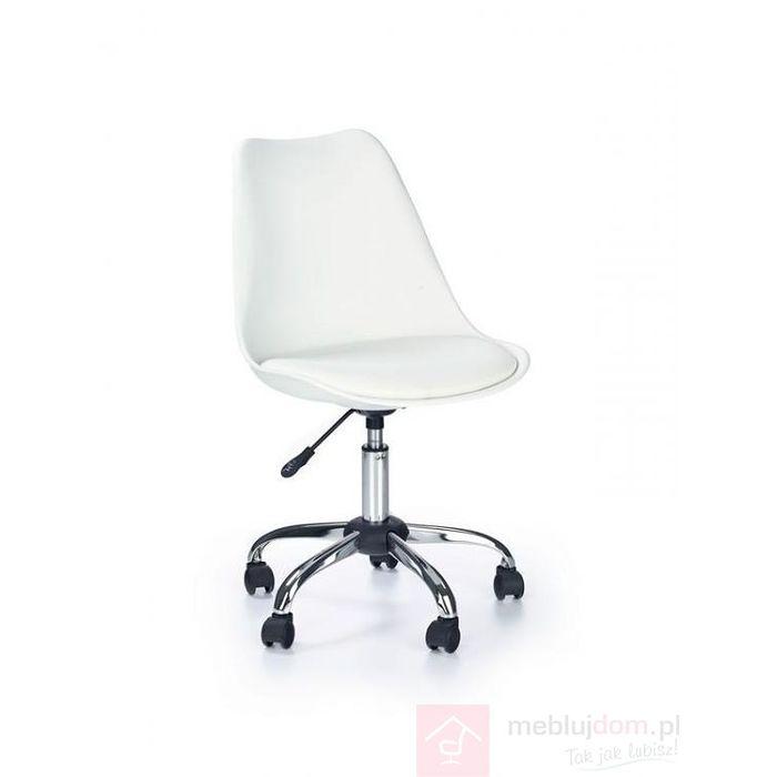 Fotel obrotowy COCO Halmar Biały