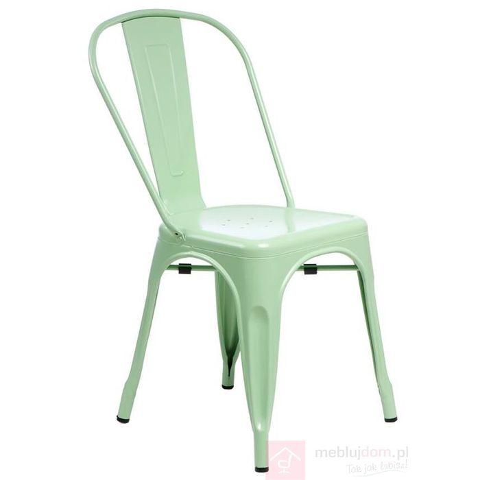 Krzesło PARIS bok zielone