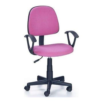 Fotel obrotowy DARIAN BIS Halmar Różowy