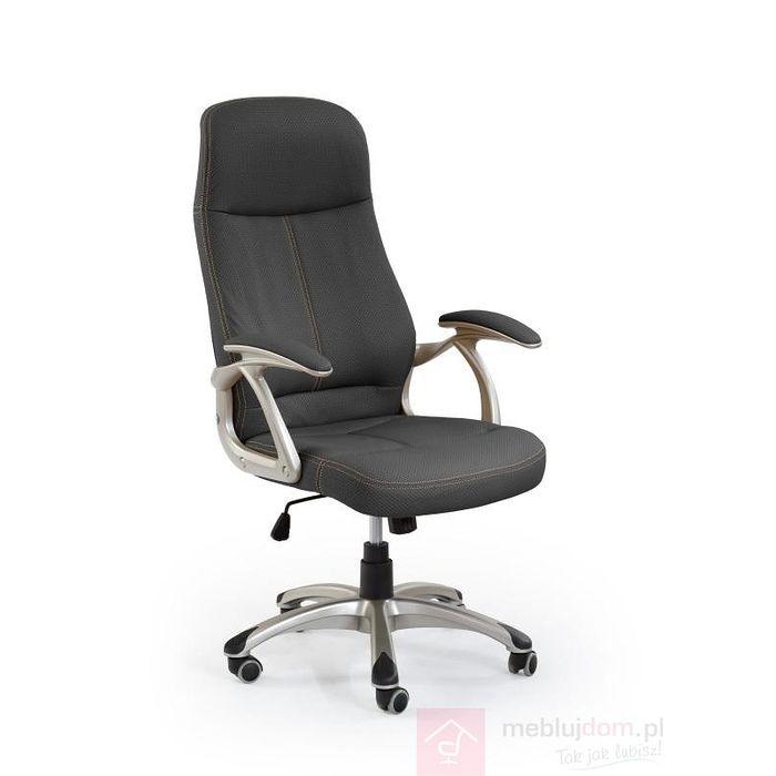 Fotel obrotowy EDISON Halmar Czarny