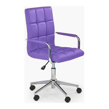 Fotel obrotowy GONZO 2 Halmar Fioletowy