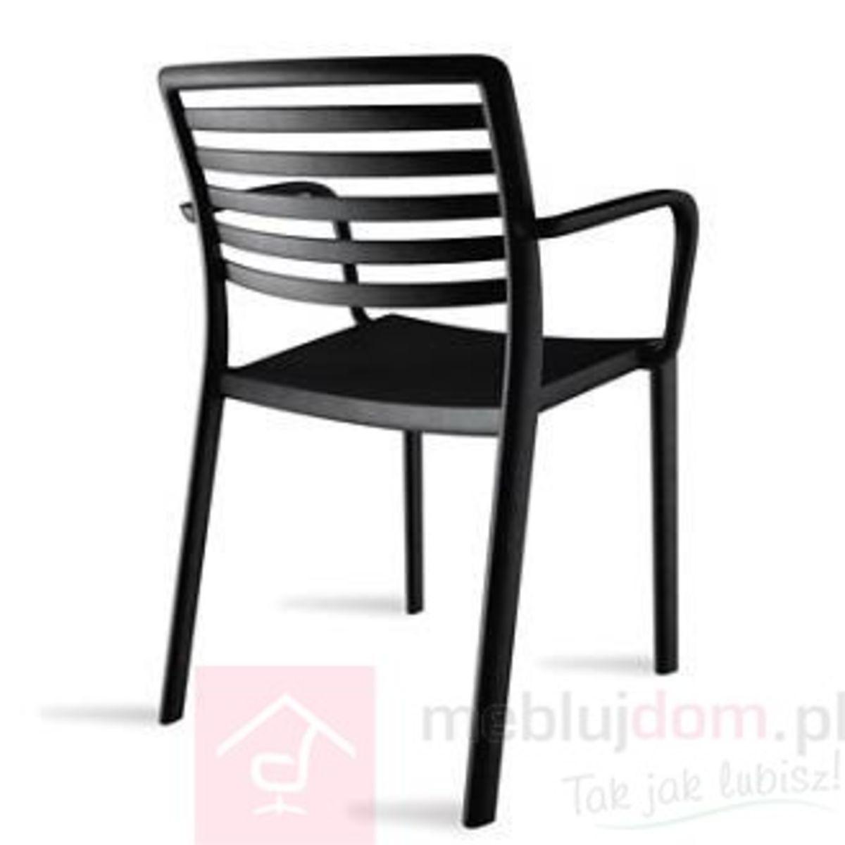 Krzesło z podłokietnikami Lama