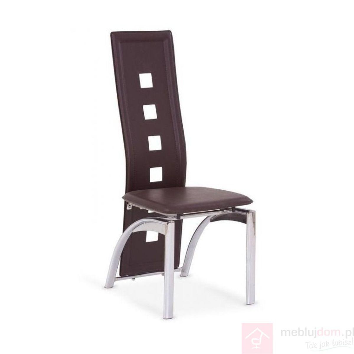 Krzesło K-4 Halmar Brąz ciemny