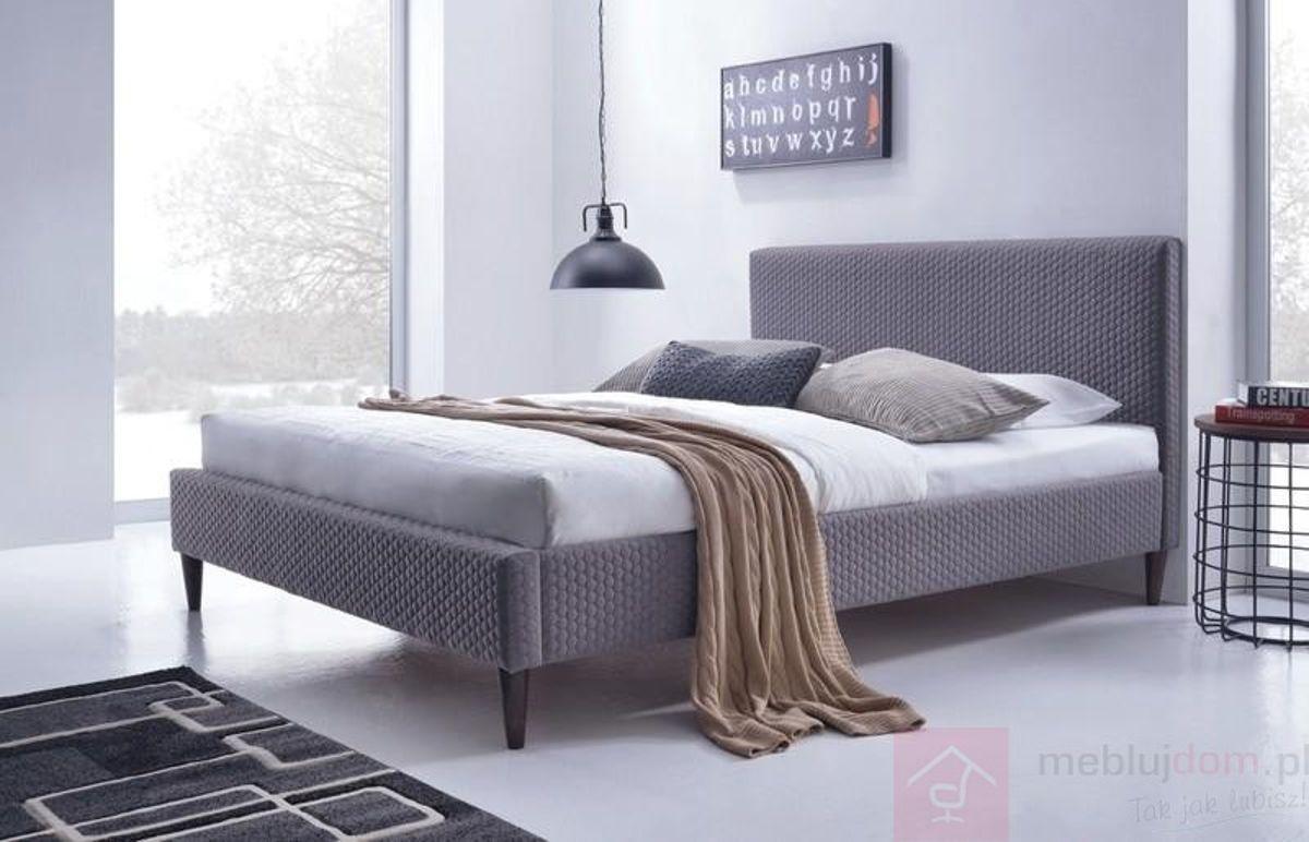 Łóżko FLEXY Halmar popielate