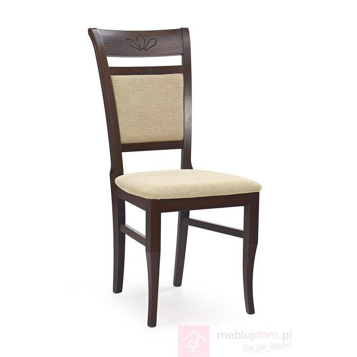Krzesło JAKUB Halmar Orzech ciemny