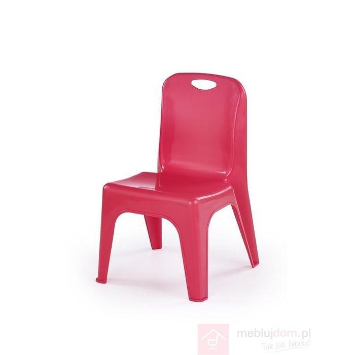 Krzesło DUMBO Halmar czerwone