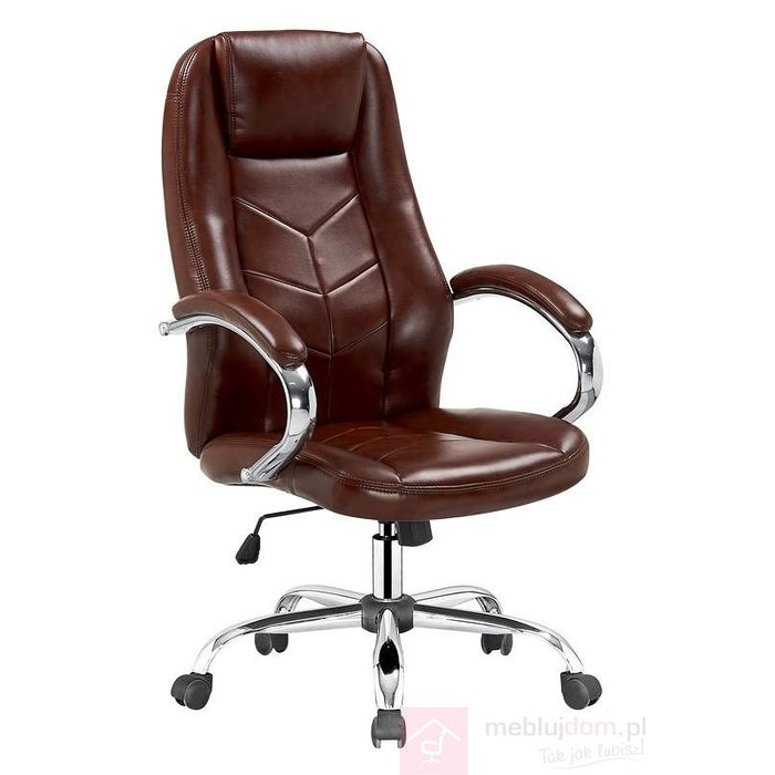 Fotel obrotowy CODY Halmar brązowy