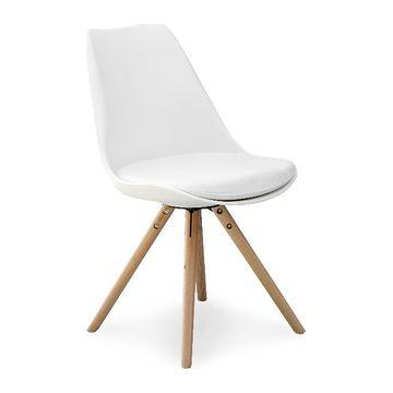 Krzesło K-201 Halmar białe