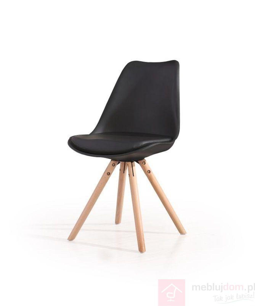 Krzesło K-201 Halmar czarne