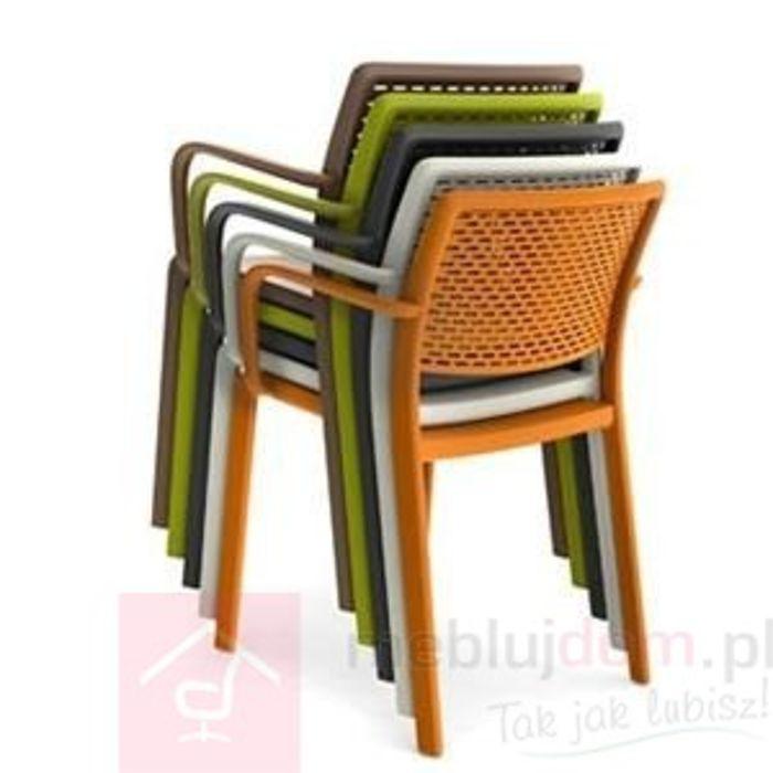 Krzesło z podłokietnikami TRAMA