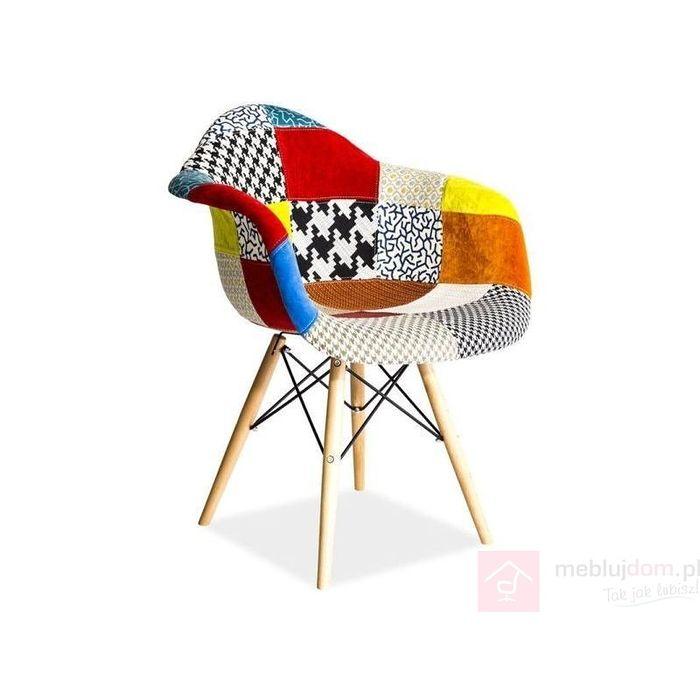 Krzesło LEON D Signal Wielobarwny