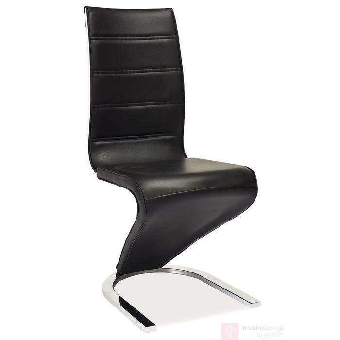 Krzesło H-134 Signal Czarny, Biały