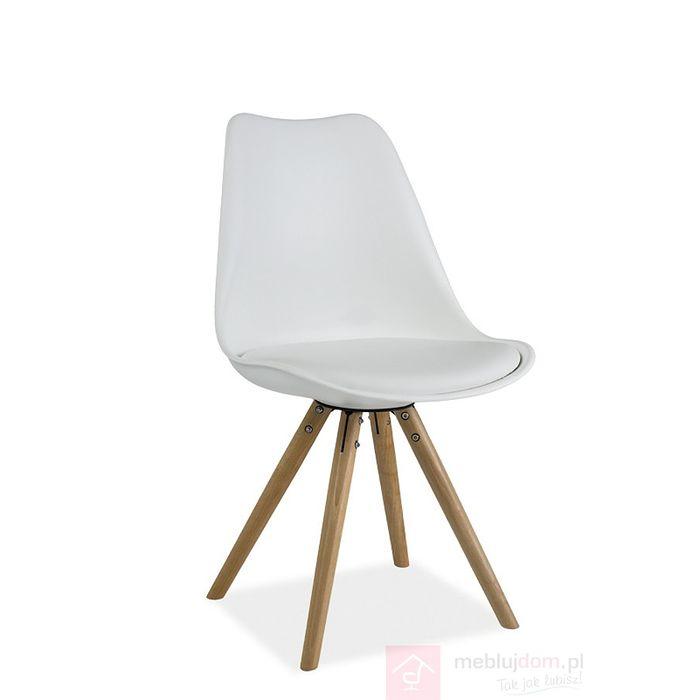 Krzesło ERIC Signal Biały