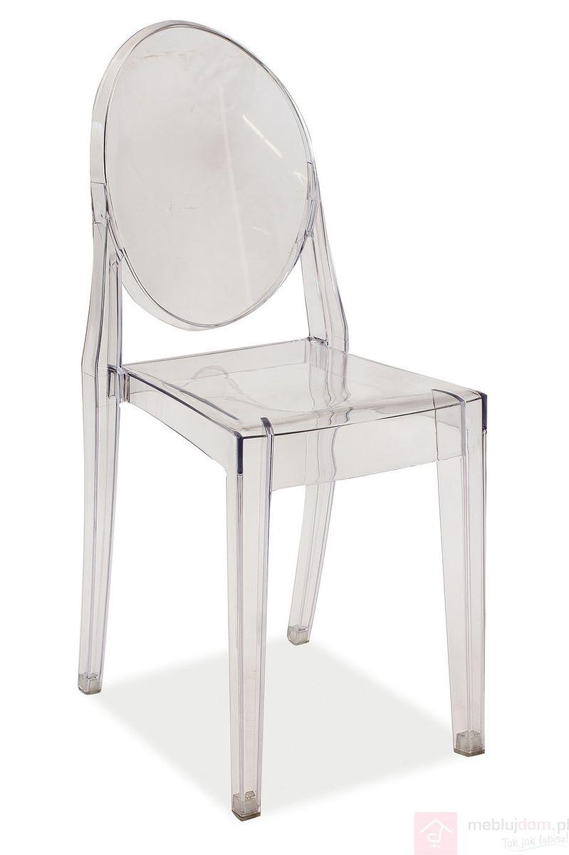 Krzesło MARTIN Signal Przezroczysty