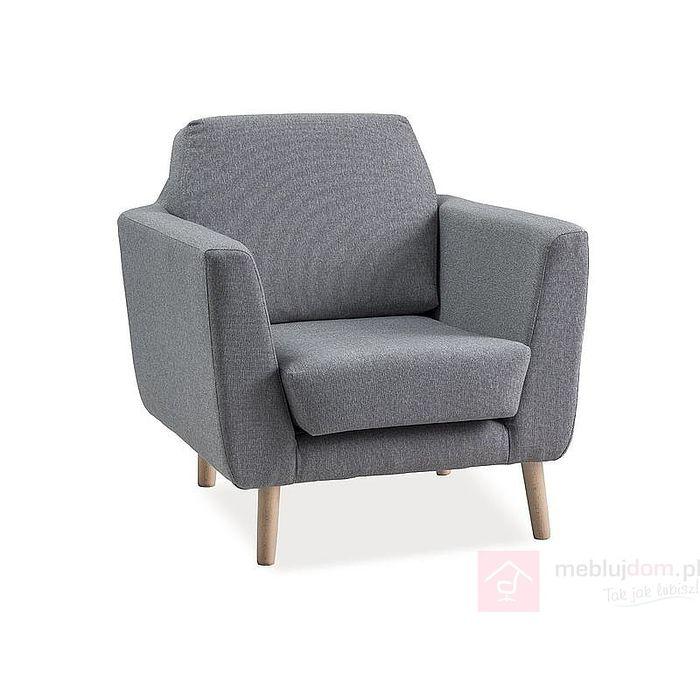 Fotel tapicerowany LESTER Signal