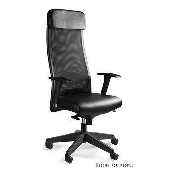 Fotel biurowy ARES Soft HL skóra naturalna