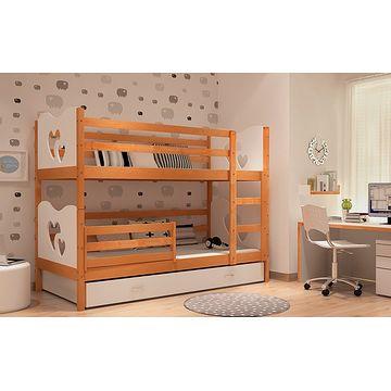 Łóżko piętrowe MAKSIO podwójne