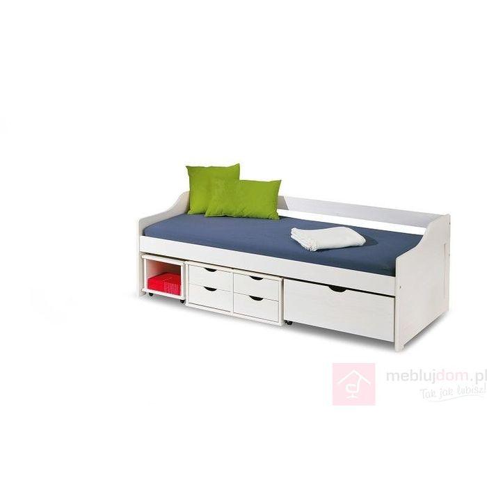 Łóżko FLORO Halmar białe