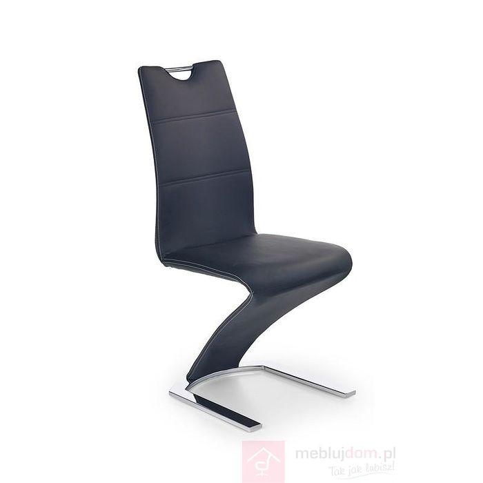 Krzesło K-188 Halmar czarne