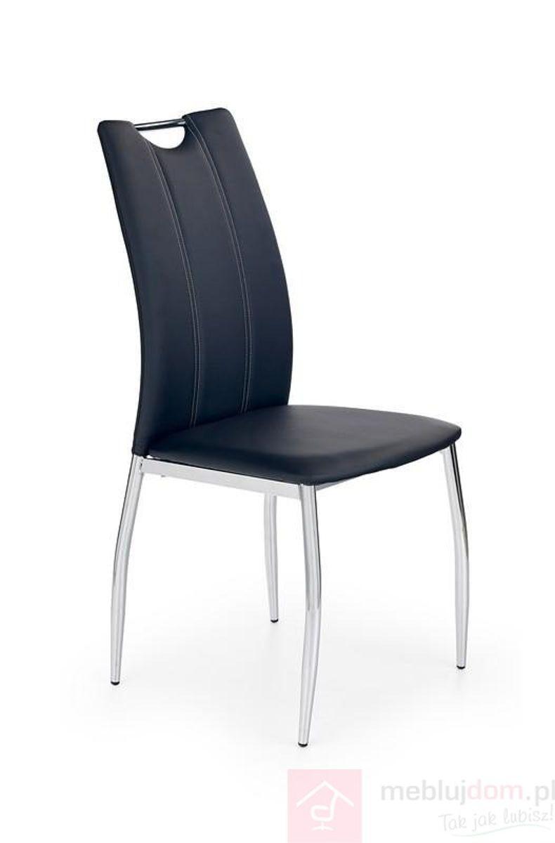 Krzesło K-187 Halmar czarne