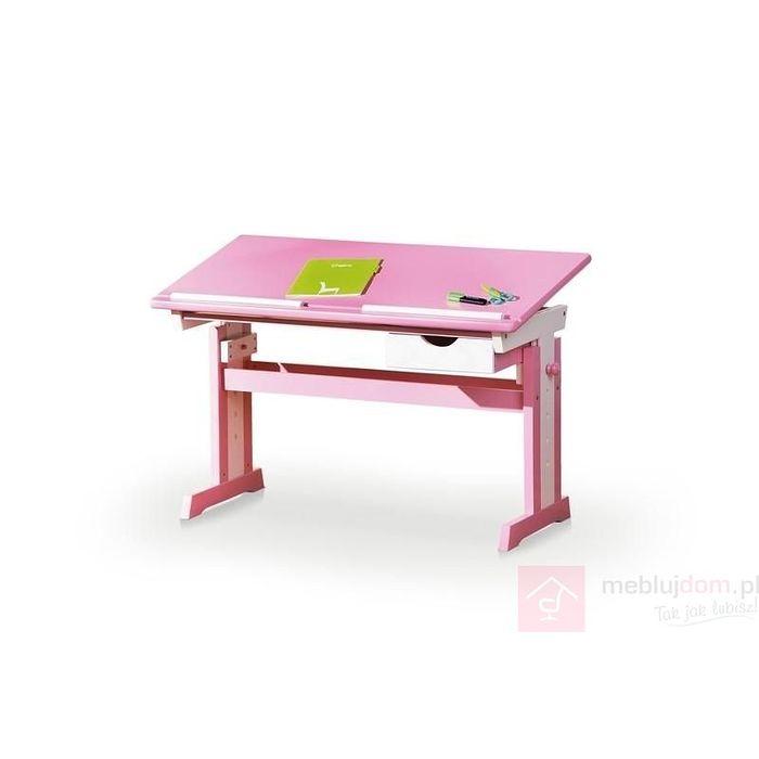 Biurko CECILIA Halmar Różowy