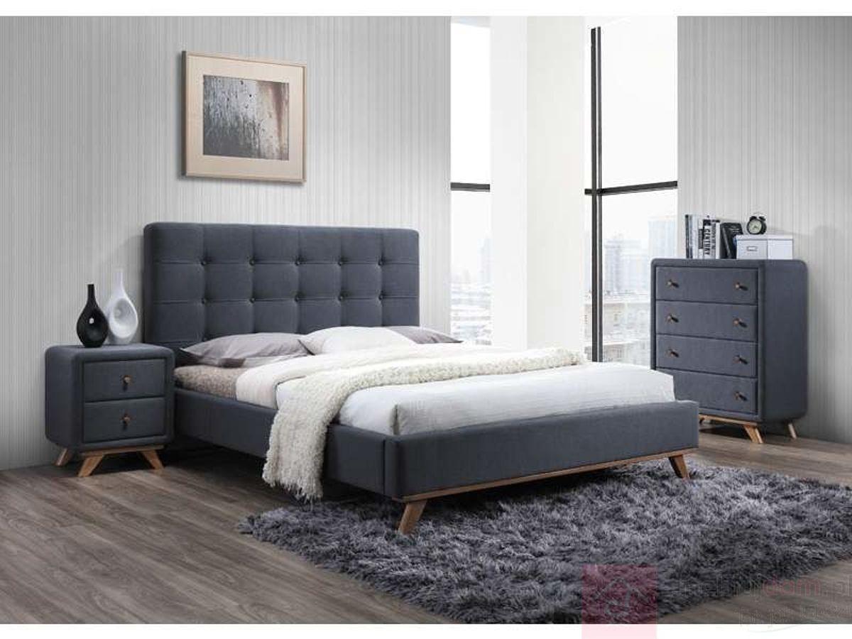 Łóżko MELISSA Signal (Szary)