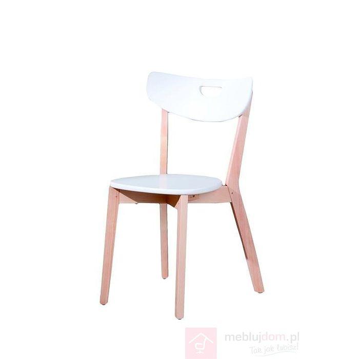 Krzesło PEPPI Halmar białe