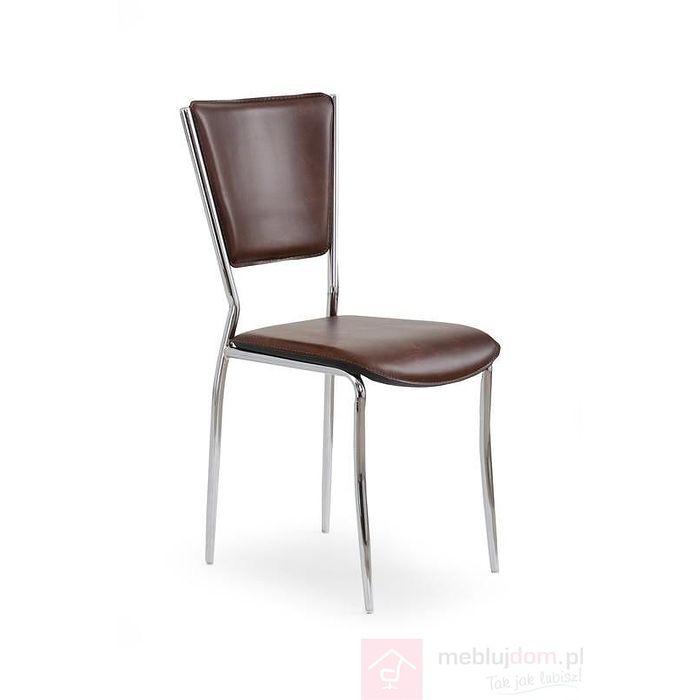 Krzesło K-72C Halmar Brąz ciemny