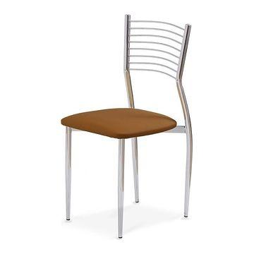 Krzesło K-9 Halmar brązowe