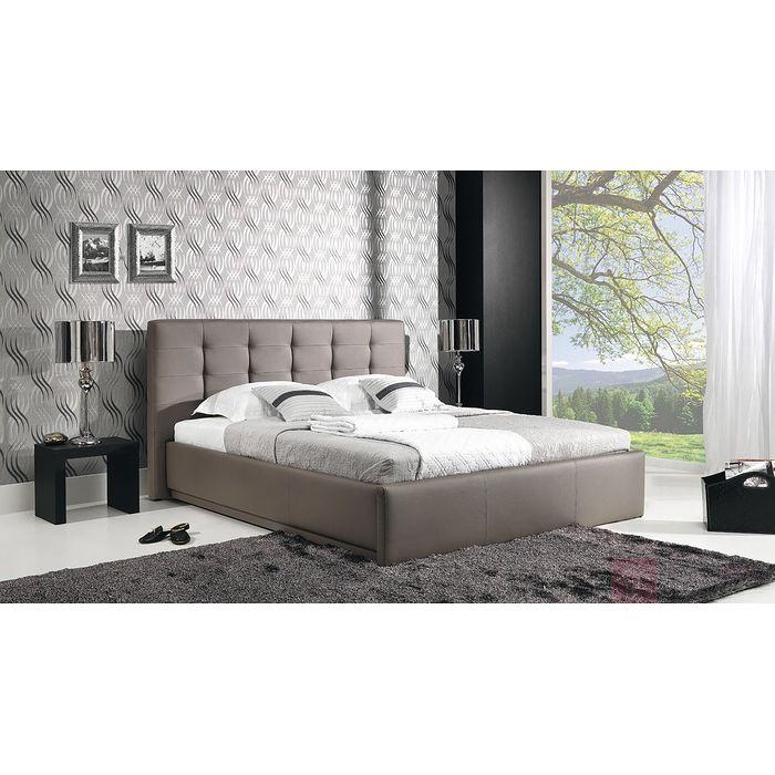 Łóżko tapicerowane AVALON (Eko skay Tiguan 105)