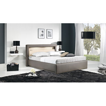 Łóżko tapicerowane AVALON (Eko skay Tiguan 105 + Eko skay B1)