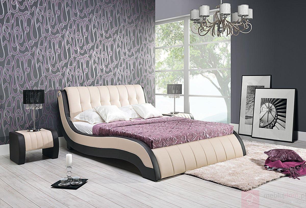 Łóżko tapicerowane NICOL II (Eko skay B1 + Eko skay Tiguan 106)