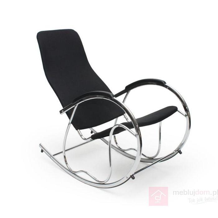 Fotel bujany BEN 2 Halmar Czarny