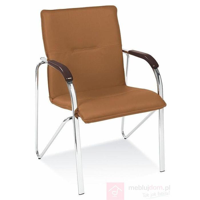 Krzesło SAMBA Halmar Brąz jasny