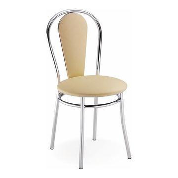 Krzesło TULIPAN PLUS Halmar Beżowy V46