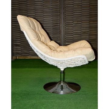 Fotel CARLOTTA Biały